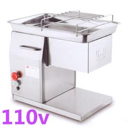 Venta al por mayor de Envío gratis nuevo 110V QX cortador de carne, cortadora de carne QX, máquina cortadora de carne, ampliamente utilizada en el restaurante