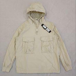 Опт 19SS 639F2 GHOST PIECE КУРТКА / Анорак COTTON NYLON ТЕЛА пуловер куртка Мужчины Женщины пальто Мода Верхняя одежда HFLSJK349