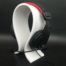 $enCountryForm.capitalKeyWord Australia - Custom transparent U-shaped design Acrylic headphone bracket headphone display bracket for computer store headphones