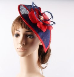 $enCountryForm.capitalKeyWord Australia - fascinators with brooches for wedding hair accessories bridal hats hats millinery headpiece High quality