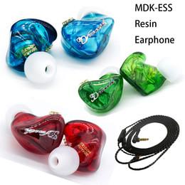 $enCountryForm.capitalKeyWord Australia - FDBRO Dynamic Resin MDK-ESS In Ear Earphone Stereo Sport HIFI Subwoofer 3D print Earphones Super Bass Monitor Earbuds Enthusiast