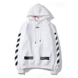 Discount mens hoodies top brands - 19SS fashion mens hoodie OFF black WHITE brand hoodies trend streetwear hip hop hooded sweater couple popular sweatshirt