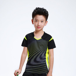 Free Print Детская футболка для бадминтона Мальчик, Спортивный спортивный костюм для тенниса, детская футболка для бадминтона Детский теннис AF006 на Распродаже