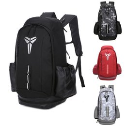 $enCountryForm.capitalKeyWord NZ - New USA National Team Backpack 19ss Kobe Mens Womens Designer Bags Teenager Black Red Outdoor Basketball Backpack 5 Colour