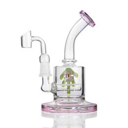 $enCountryForm.capitalKeyWord UK - 6.3 Inchs Mini Oil Rigs Glass Beaker Bong Thick Glass Water Bongs Smoking Glass Pipes Bubbler Eye Chicha With 14mm Banger