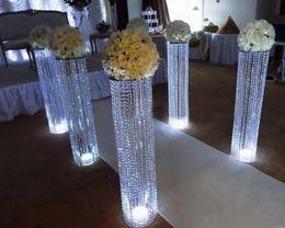 $enCountryForm.capitalKeyWord UK - wedding decoration Acrylic crystal pillar aisle road lead with led light table centerpieces for home wedding hotel party