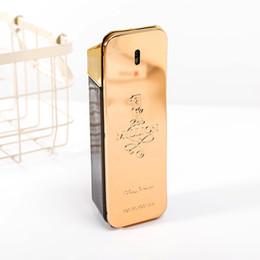 Wholesale one million for sale – custom 19SS Hot perfume rabanne Gold Million perfume man ml with long lasting time Million Spary perfume
