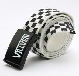 $enCountryForm.capitalKeyWord Australia - Men Women Unisex Plain Webbing Cotton Canvas Metal Buckle Belt High Quality Belts Male Luxury Casual Straps Ceintures FB40