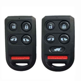 $enCountryForm.capitalKeyWord Australia - 4 5 Buttons +Painc Replacement Remote Car Key Shell Case Fob For Honda Odyssey