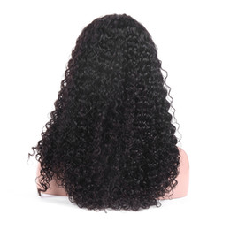Color Bob Wigs UK - Jerry Curly Lace Front Human Hair Wigs With Baby Hair Brazilian Remy Hair Short Curly Bob Wigs For Women Pre-Plucked Wig