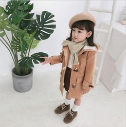 Vente en gros Manteau filles 2019 nouveaux vêtements pour enfants automne et hiver manteau de laine manteau de cheveux d'agneau pour enfants plus manteau de velours