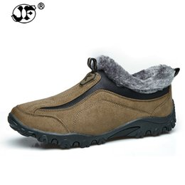 $enCountryForm.capitalKeyWord Canada - Men Boots Winter With Fur 2018 Warm Snow Boots Men Winter Boots Work Shoes Men Footwear Fashion Rubber Ankle Shoes 693