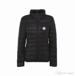 Fashion winter coats For women online shopping - New women plus size long sleeve warm light down padded winter jacket women parkas for women winter coat fashion jacket