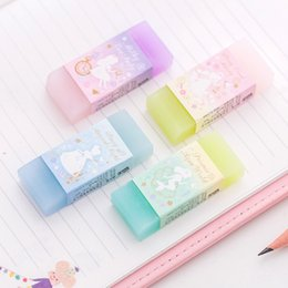 World Stationery Australia - Princess World Double Color Eraser Rubber Eraser Primary Student Prizes Promotional Gift Stationery