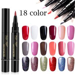 $enCountryForm.capitalKeyWord Australia - Misscheering Can Not tear the nail polish last step polish pen shape nail glue 18 color gel