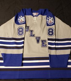 Jerseys Wolf Australia - Vintage SUDBURY WOLVES JAKE CARDWELL Hockey Jersey Embroidery Stitched Customize any number and name Jerseys