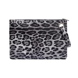 1484fec88a09 Red Leopard Print Clutch Bag Australia - Leopard Print Clutch Bag PU  Leather Hags Women Zipper