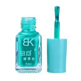 Glow dark nails polish online shopping - Dropshipping PC series of Fluorescent Neon Luminous Gel Nail Polish for Glow in Dark Nail Varnish JN16