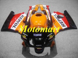 Honda Cbr F2 Red Fairings Australia - Motorcycle Fairing kit for HONDA CBR600F2 91 92 93 94 CBR 600 F2 1991 1994 New Red orange black Fairings set+gifts HF02
