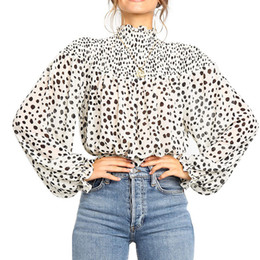 Womens White blouses short sleeve online shopping - Summer elegant Women shirt Fashion Retro White thin sunscreen shirt printed bat sleeve blouse shirt womens tops and blouses SH19010