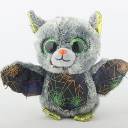 $enCountryForm.capitalKeyWord UK - Ty Beanie Boos Stuffed & Plush Animals Vlad The Gray Bat Toy Doll 15cm