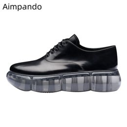$enCountryForm.capitalKeyWord NZ - Newest 2019 Casual Shoes Woman Thick Bottom Flat Platform Cross-tied Round Toe Black Patent Leather Outwear Flat Shoes Woman