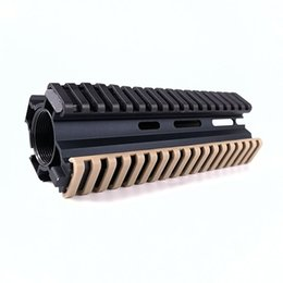 "m4 picatinny rail NZ - Tactical 7"" Picatinny Ladder Rail Rubber Covers (pack of 4) AR15 M4 handguard protection Black Tan OD"