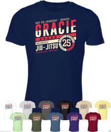 f583952697e Brazilian clothes online shopping - Gracie Jiu Jitsu Training Center TShirt Clothing  Brazilian Martial Arts BJJ