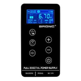 $enCountryForm.capitalKeyWord Australia - Tattoo Power Supply HP-2 Bronc UPGRADE Touch Screen TP-5 Intelligent Digital LCD Makeup Dual Tattoo Power Supplies set