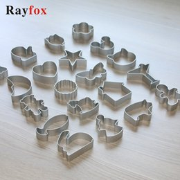 Aluminum Shape Cutter Australia - 61 Style Cookie Cutters Moulds Aluminum Alloy Cute Animal Shape Biscuit Mold DIY Fondant Pastry Decorating Baking Kitchen Tools