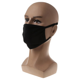 $enCountryForm.capitalKeyWord Australia - Outdoor bike respirator 1pcs Black Health Cycling Anti-Dust Cotton Mouth Face Respirator Unisex Mask