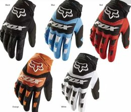 Wholesale 2020 new fox head outdoor riding gloves motorcycle bicycle downhill gloves breathable winter full finger gloves