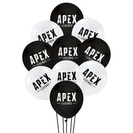 Latex Gifts Australia - 100pcs set 12 inch apex legends Latex balloons Wedding Birthday Decoration Globos Baby Shower Girl Birthday Party Helium Balloon New Gift