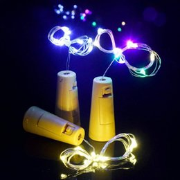 $enCountryForm.capitalKeyWord Australia - 10pcs Included Batteries 1M 10LED 2M 20LED Wine Bottle Cork String Led Light Waterproof Starry Lamps for Christmas Party Wedding Decorations