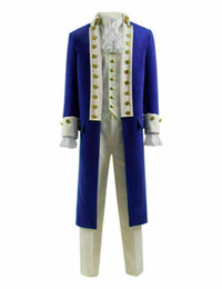 suits tv show NZ - Hamilton Cosplay Costume Men Stage Costume Suit for Show Alexander Hamilton
