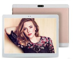 Ips Phone Call Australia - 10 Inch Tablet pc Android 6.0 Octa Core 4GB RAM 64GB ROM dual cameras 5.0MP WiFi FM IPS Phone Call GPS 3G Tablets+gifts