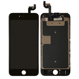 $enCountryForm.capitalKeyWord NZ - For Iphone 6s Touch Screen Digitizer LCD Display Assembly With Metal Plate 4.7inch 6s Mobile Phone Screen Repair Parts DHL Freeshipping
