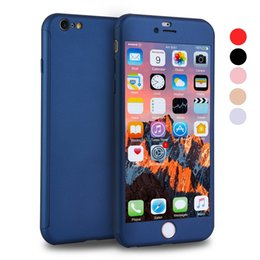 $enCountryForm.capitalKeyWord NZ - Full Cover 360 Degree Matte PC Phone Case for Iphone 6S 6S Plus 8 8 Plus with Screen Protector Full Cover Cases