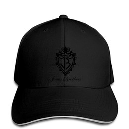 3e5cf4f6c0ce1 Summer New Fashion Casual Men Baseball Cap Jonas Brothers Logo Printed  Graphic Black