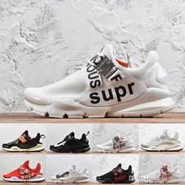 Metal Sneakers Australia - Designer SOCK DART Presto SUP Black White Red Running Shoes for Women Men Presto Prestos Casual Sports Sneakers 36-45