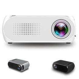 $enCountryForm.capitalKeyWord Australia - YG320 Pocket Mini Projector LED Portable Projector Beamer HDM AV 1080P Home Media Player Proyector for Xbox Game Built-in Speaker Wholesale