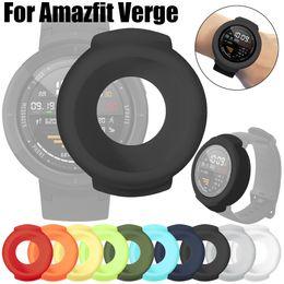 $enCountryForm.capitalKeyWord Australia - New High Quality Soft TPU Protection Silicone Full Case Cover for Huami Amazfit Verge Smart Watch Funda de silicona#10