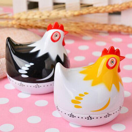Cartoon Chicken 60-Minute Countdown Kitchen Cooking Mechanical Alarm Timer Clock Timer Cooking Kitchen Timer 2 Colors DHL on Sale