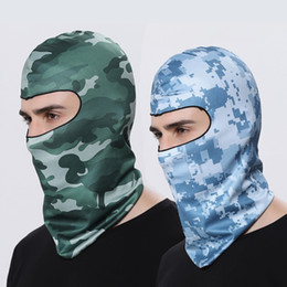$enCountryForm.capitalKeyWord Australia - WOSAWE Motocross Balaclava Face Mask Quick Dry Bike Bicycle Hat Sport Caps Full Cover Face Shield Motorcycles Bandana Headwear