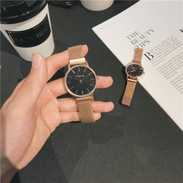 $enCountryForm.capitalKeyWord Australia - Lovers' Fashion Style Student Cheap Price Watch Hot Slling Quatz Silver Watches Stainless Steel Simple Round Dial Alloy Strap Couple Watches