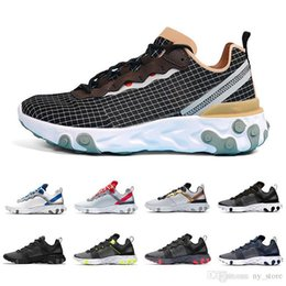 $enCountryForm.capitalKeyWord Australia - Escape 2019 Pack Taped Seams Solar Red React Element 55 Game Royal Men Running Shoes For Women Sports Mens Trainer 55s Sneakers 36-45