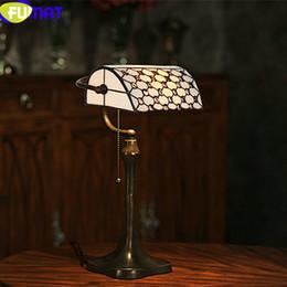 $enCountryForm.capitalKeyWord NZ - FUMAT Tiffany Table Lamp Vintage Stained Glass Shade Bedroom Bedside Light LED Bank Beads Living Room Art Home Deco Desk Light