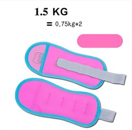 ExErcisE EquipmEnt wEights online shopping - 1 KG pair Adjustable Leg Ankle Weights Straps Strength Training Exercise Fitness Equipment For Running Basketball Football