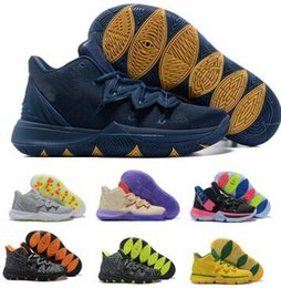 61992d86ae6 Man 2019 5 Basketball Shoes Sneakers Mens Navy Magic Ikhet Taco Bred Neon  Blends PE 3 Mamba Concepts Kyrie Designers Baskets Ball Shoes