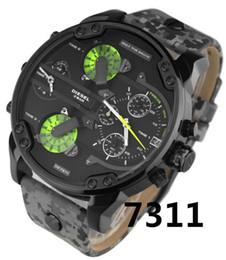2019 часы мужчины люксовый бренд DZ7314 7331 мода повседневная мужские часы кварцевые часы военные Montre homme мужской наручные часы Наручные часы